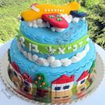 Мастичный торт Самолет