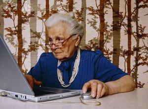 Бабушка-блогер