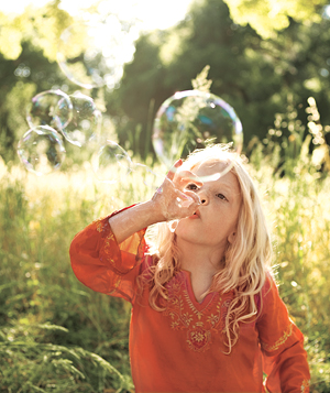 Давайте вспомним о мыльных пузырях