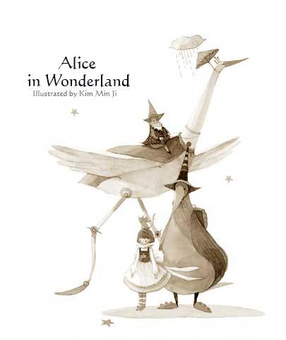 Алиса в стране чудес Kim Min Ji