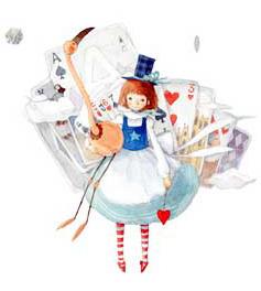 Алиса в Стране чудес: иллюстрации Kim Min