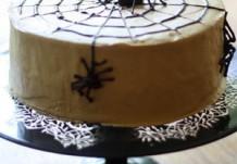 Шоколадно-кофейный торт на Хэллоуин