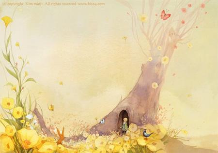 Вторая Осенняя Иллюстрация к Маленькому Принцу
