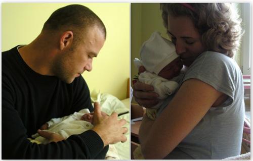 Что может быть прекраснее материнства? Только отцовство?