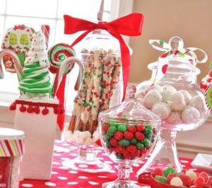 Какой же новогодний стол без сладостей