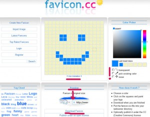 Как создать фавикон для блога на blogspot