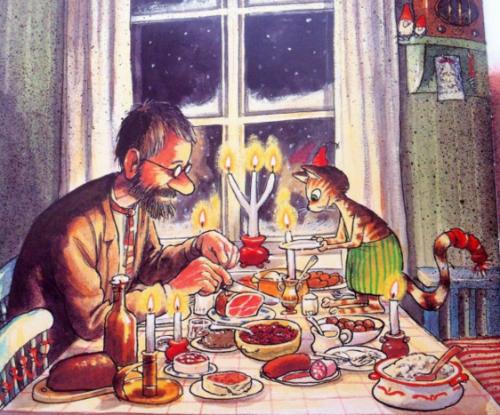 """""""Рождество в домике Петсона"""""""