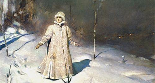 """""""Снегурочка"""" с иллюстрациями Васнецова"""