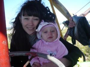 Таня с дочкой Ярославой