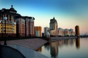 Набережная, Казахстан