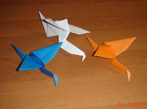 Бумажные журавлики от Натальи