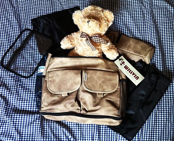 Бежевая сумка от Willvin