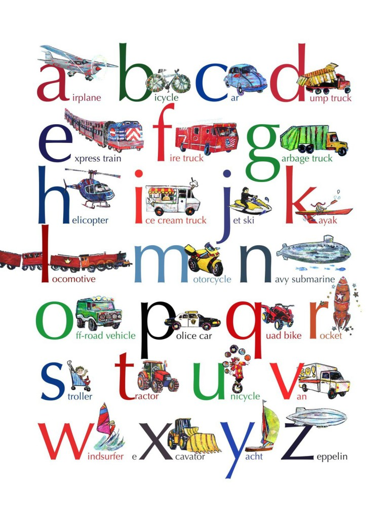 Алфавит: Транспорт