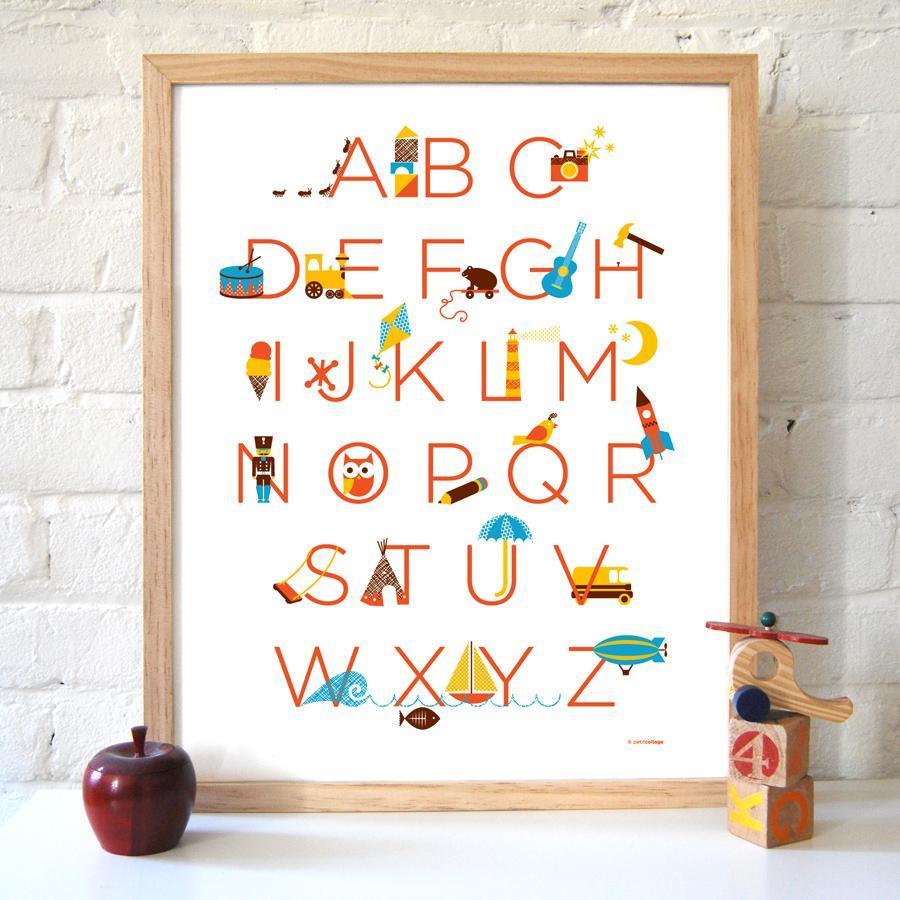 Алфавит плакат 3