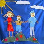 «Моя семья» — рассказ Вани Красовского, 7 лет