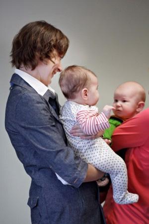 Апрель 2011 - Встреча кормящих мам в детском клубе Папа Карло