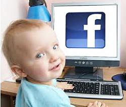 Дети и фейсбук