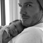 Виктория и Дэвид Бекхэм – счастливые родители девочки Харпер