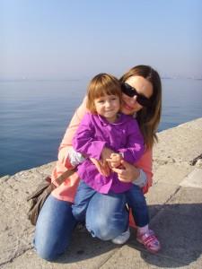 Маша с дочкой Сонечкой