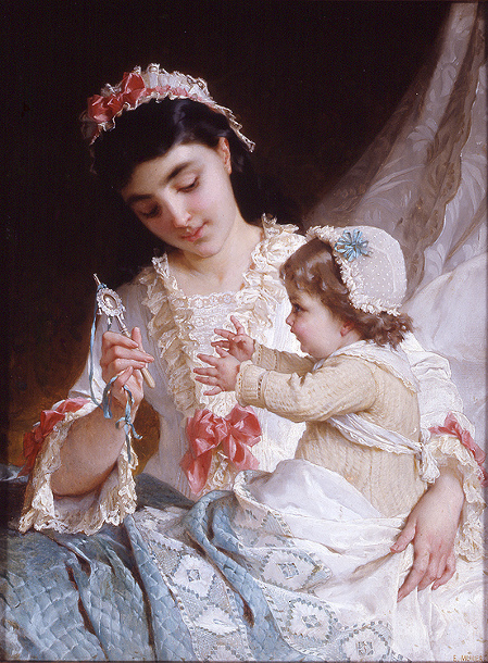 Emile Munier, Distracting The Baby