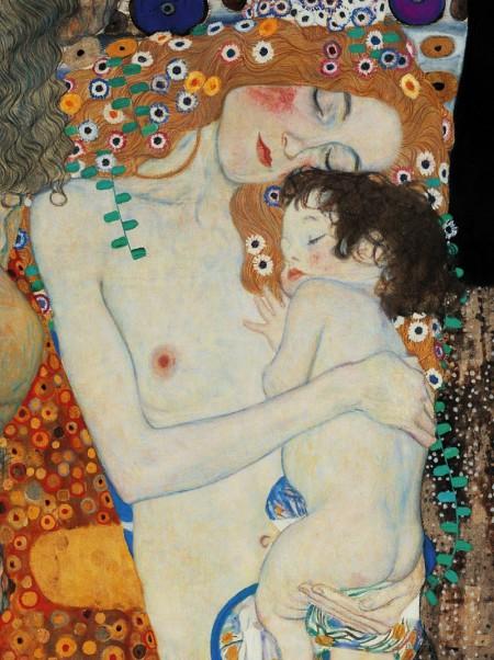 Gustav Klimt, Mother and Child