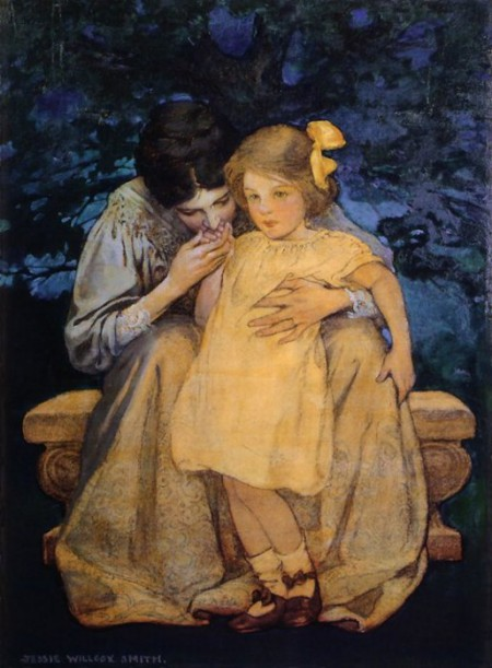 Jessie Wilcox Smith Mother and Child
