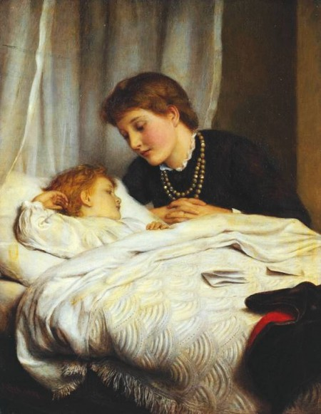 Joseph Clark, Mother's Darling, 1884