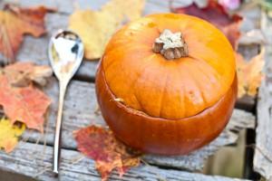Осенние блюда для детей из тыквы