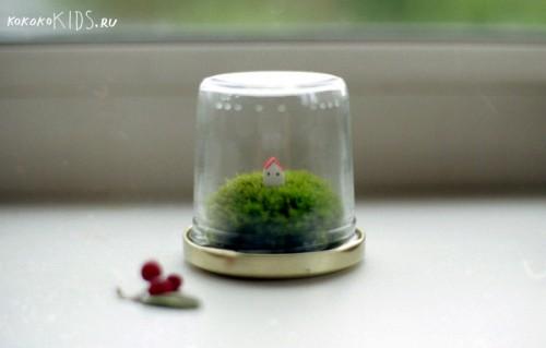 Домик на лесной опушке