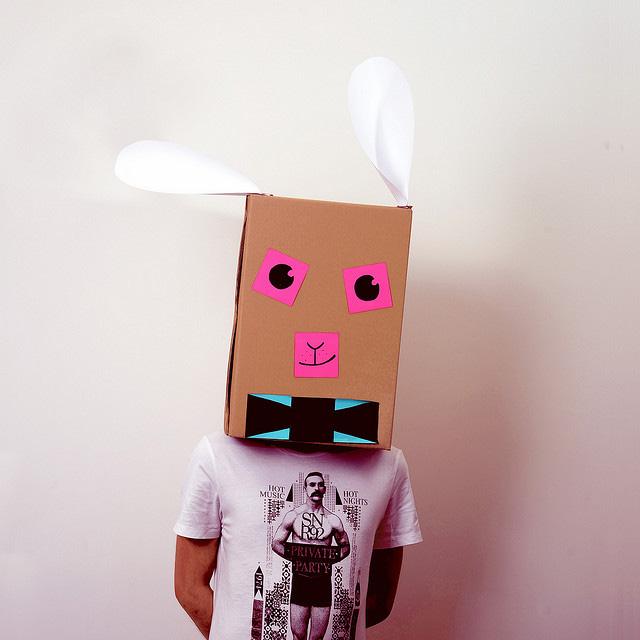 Детский костюм своими руками - зайчик