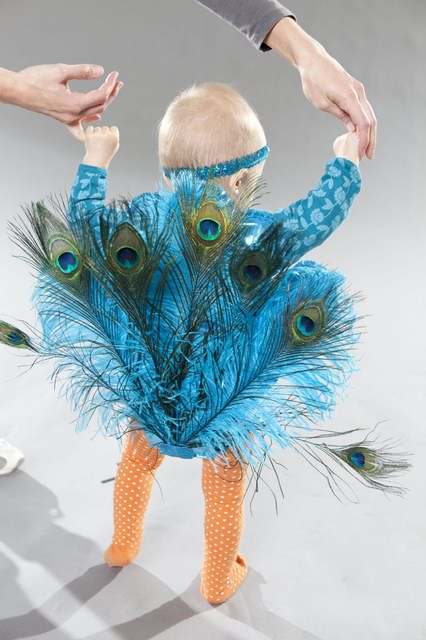 Детские карнавальные костюмы своими руками: павлин
