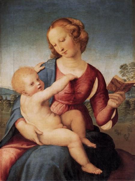 Raphael Raffaello Sanzio da Urbino, Colonna Madonna 1508