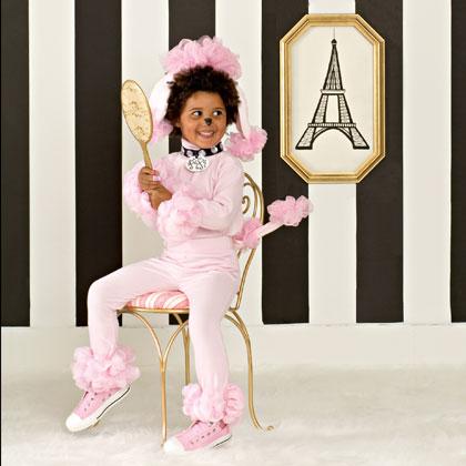 Розовый пудель - карнавальный костюм для девочки