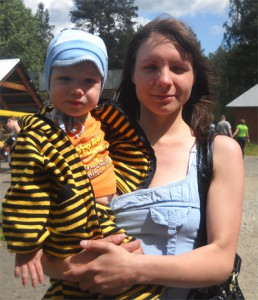 Мама Недели: Юлия Чухарева
