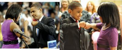 Барак Обама и Кондолиза Райс
