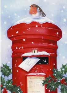 Новогодний сюрприз: обмен открытками по почте