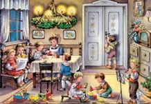 Традиционный рождественский календарь ожидания (Германия)