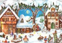 Рождественский календарь ожидания