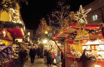 Рождественская ярмарка в Базеле