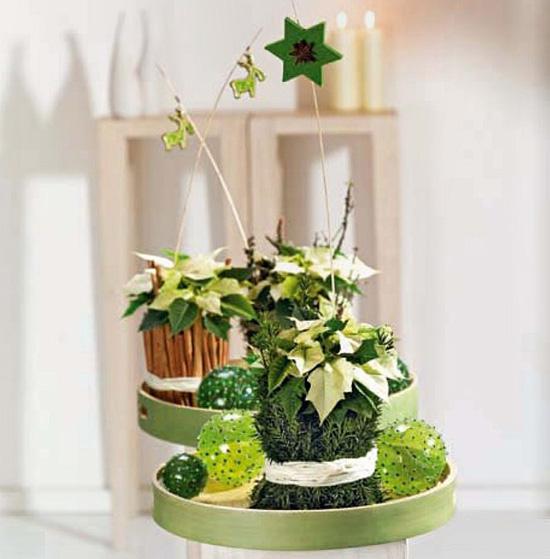 Рождественская флористика: идеи для украшения дома к праздникам