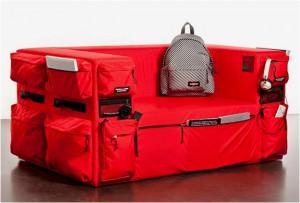 Диван-рюкзак от Quinze & Milan and EASTPAK