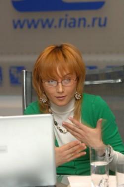 Светлана Изамбаева дает интервью