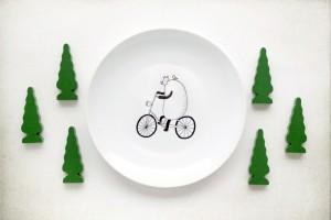 Тарелка с медведем от ko-ko-ko