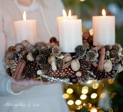 Шишки и свечи