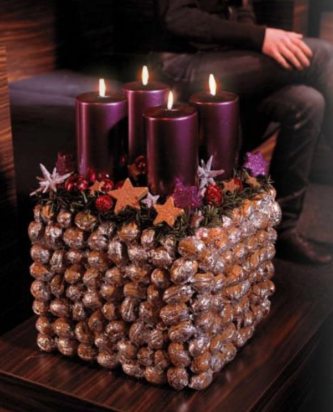 Рождественский подсвечник