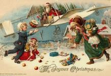 Новогодние и рождественские винтажные открытки