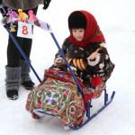 В России прошел фестиваль санок