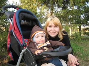 Лилия с сыном Тимуром