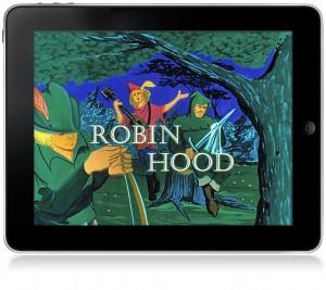 Интерактивная книга о Робине Гуде для iPad