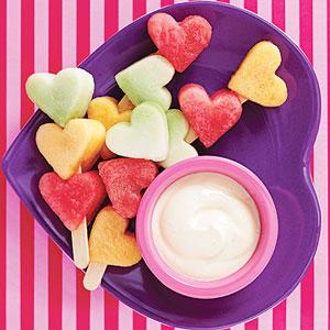 Шашлычки из фруктов